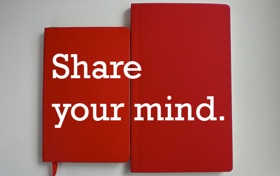 Share your mind